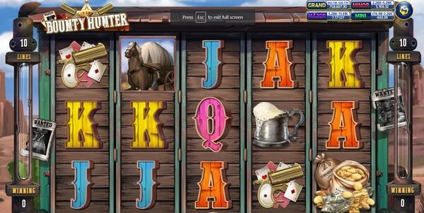 Bounty Hunter รูปแบบรายละเอียดของเกม