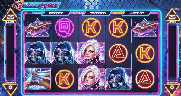 Cyber Race รูปแบบตัวเกม