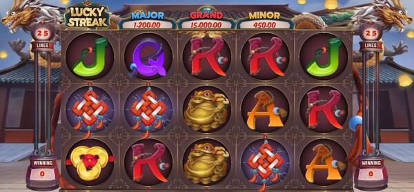 รูปแบบของเกมส์ Lucky Streak