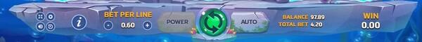 Ocean Spary ปุ่มควบคุมของเกม