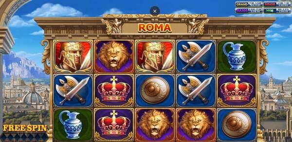 Roma รูปแบบรายละเอียดของเกม