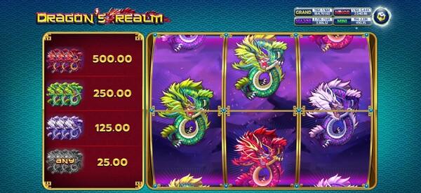 รีวิวรูปแบบของเกมส์ Dragon's Realm