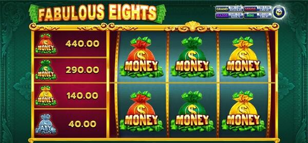 รูปแบบของเกมส์ Fabulous Eights