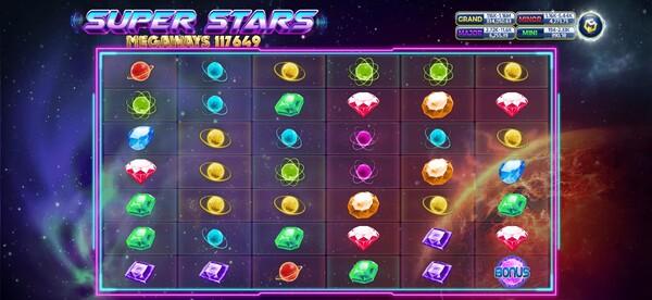 รีวิวรูปแบบของเกมส์ Super Stars