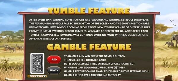 รีวิว TUMBLE FEATURE และ GAMEBLE FEATURE