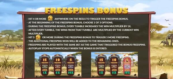 รีวิว FREESPINS BONUS