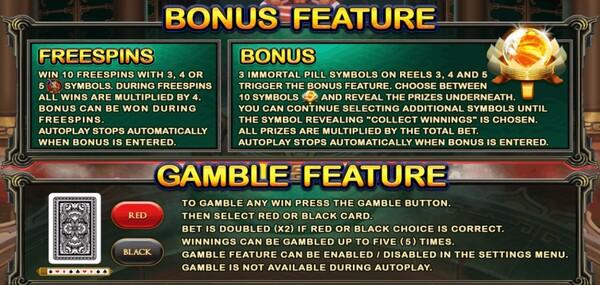 รีวิว FREESPINS กับ BONUS และ GAMEBLE FEATURE
