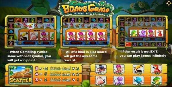 รีวิว BONUS GAME